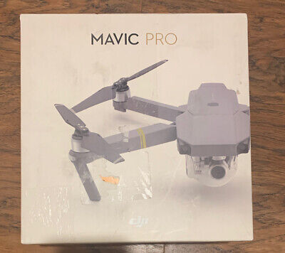 DJI Mavic Pro Quadcopter Drone With Removed Controller - Gray - Used -