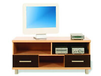 Casto TV Unit - Walnut