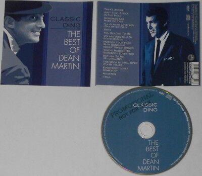 Dean Martin  Classic Dino, The Best Of  U.S. promo label cd