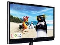 "27"" LG M2780D Full HD 1080p Digital Freeview LED TV lcd"