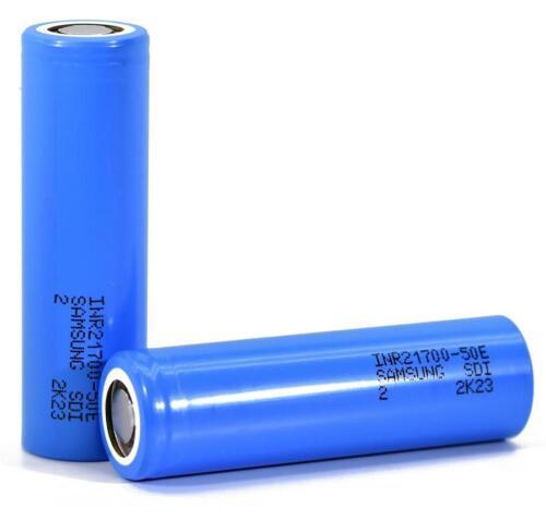2x NEW Samsung 50E 9.8A 14.7A 5000mAh 5000 3.7V 3.6v lithium rechargeable