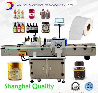 Round Bottle Labeling Machinebottle Adhesive Labeling Machinece
