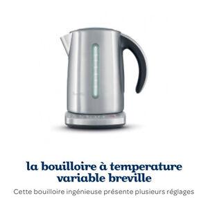 Bouilloire à temperature variable breville