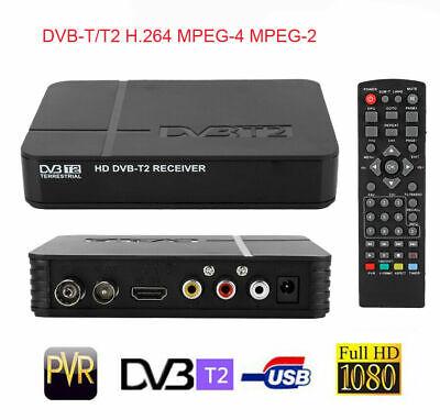 DVB-T2 3D HD Set Top Box Digital Receiver Freeview Recorder HDMI USB TV Tuner (Tv-tuner Hdmi)
