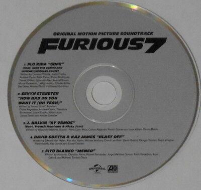 Flo Rida  J  Balvin  David Guetta   Kaz James  Furious 7 Ep   U S  Promo Cd