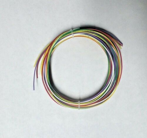 24 AWG Mil-Spec Wire (PTFE) Stranded, Silver Plated, Assortment 50 ft