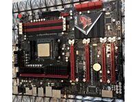 Asus ROG Crosshair V Formula-Z Motherboard AM3+ and amd fx 4100 prosessor