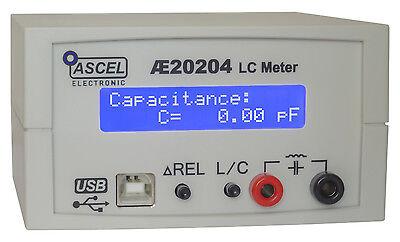 Ae20204 Lc-meter Komplett-bausatz Mit Rs232usb Gehuse Rcl Rlc Lcr Crl Lrc Clr