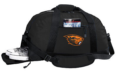 Oregon State Duffel Bag BEST DUFFLE GYM OSU Luggage Bags OUTSIDE SHOE
