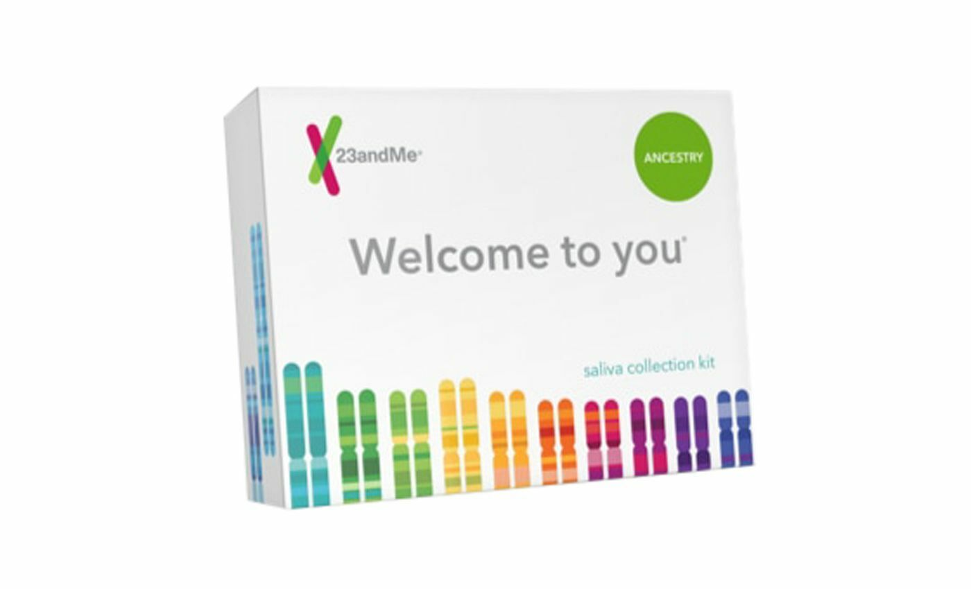 23 and Me Ancestry DNA Saliva Test kit. LAB FEES & RETURN SHIPPING INCLUDED