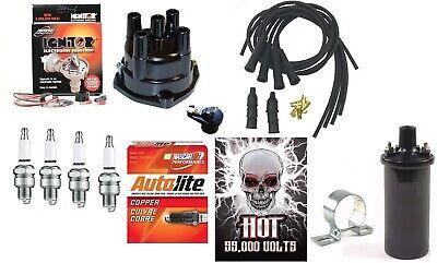 Electronic Ignition Kit Hot Coil Massey Ferguson Mf 35 135 150 165 175