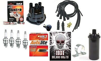 Electronic Ignition Kit Hot Coil John Deere 1010 2010 Tractor Delco Screw-held