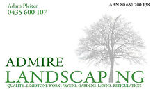 ADMIRE LANDSCAPING Baldivis Rockingham Area Preview