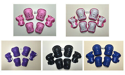 Fantasycart's Kid's Roller Blading Wrist Elbow Knee Pads Blades Guard 6 PCS Set