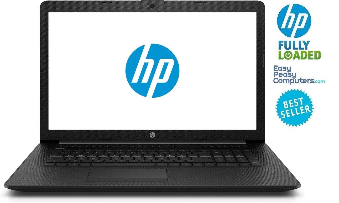 "Laptop Windows - HP Laptop 17.3"" Windows 10 8GB 1TB DVD+RW WiFi Bluetooth WEBCAM (FULLY LOADED)"