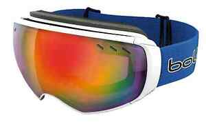 Bolle virtuose goggles white and blue Moculta Barossa Area Preview