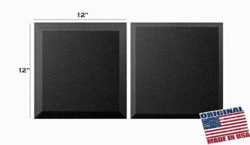 24 Pack Acoustic Panels Soundproof Studio Foam Insulation Wall Tiles 12x12x0.5