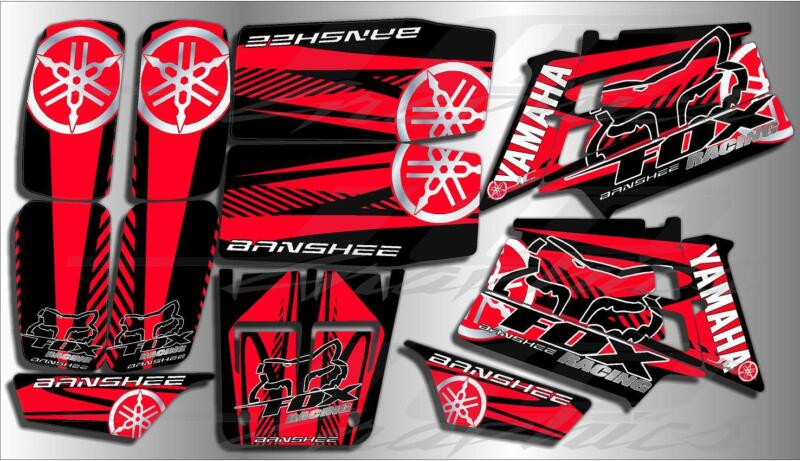yamaha banshee full graphics kit...THICK AND HIGH GLOSS