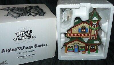 Dept 56 Alpine Christmas Village House Spielzeug Laden Toy Store Shop 56192 (Alpine Stores)