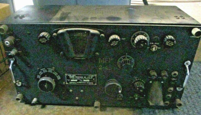 Signal Corps Radio Receiver BC-312N MFP-245 c 1942