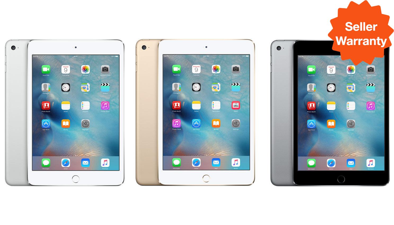 LATEST Apple iPad Mini 2 3 4 ✤WIFI ONLY✤ 16GB 32GB 64GB 128GB Black Silver Gold