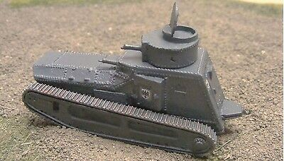 MGM 080-118 1/72 Resin WWI German Light Tank Leichter Kampfwagen II MG