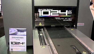 Direct Jet Dj-1024 Uvhs Small-format Uv Flatbed Printer- 6month Manf Warranty