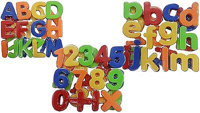 Magnet Buchstaben und Zahlen Magnetisches Alphabet Groß, Klein + Zahlen 78 Teile