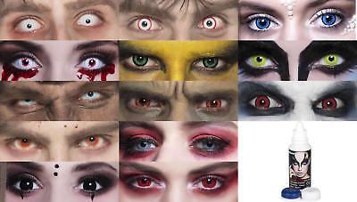 Farbige Kontaktlinsen 2 St Farblinsen 3 Monats Linsen ohne Stärke Contact Lenses
