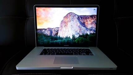 "MacBook Pro 17"" w. 8GB RAM and 2.8GHz + GPU - Mid-2009 URGENT Bowen Hills Brisbane North East Preview"