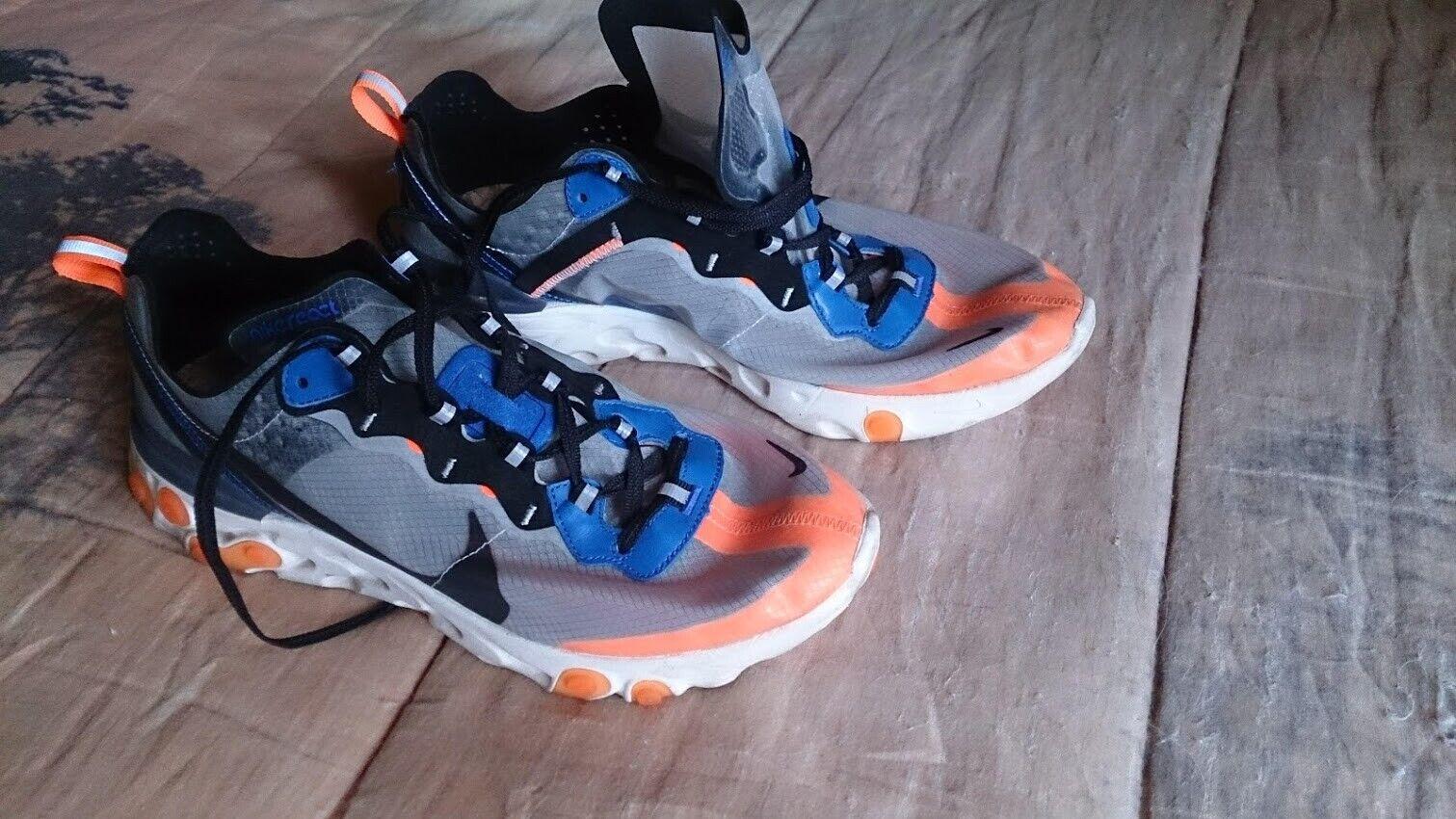 Nike react élément 87 orange/bleu