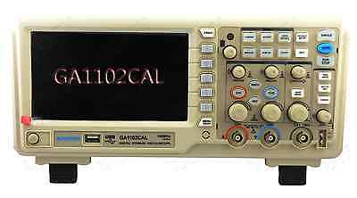 Gratten Digital Oscilloscope Ga1102cal 100mhz 2ch 7 Lcd 1g Sas Usb 9 Languages