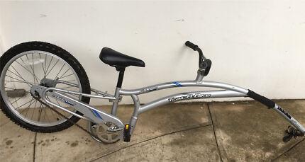 Bike trailer for kids learning