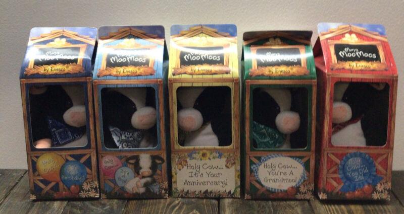 Lot Of 5 - Mary's Moo Moo's Plush- New Open Box