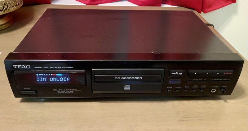 Teac CD-RW880 Compact Disc Recorder CD Player/recorder