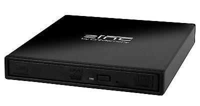 CnMemory Laufwerksgehäuse Zinc USB 2.0 BD CD DVD Laufwerk extern Gehäuse SATA