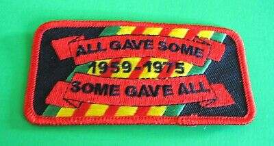 ALL GAVE SOME SOME GAVE ALL VIETNAM 1959-1975 PATRIOTIC MILITARY IRON ON