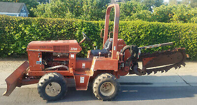 Ditch Witch Trencher 3700dd Ride On Deutz Diesel Engine