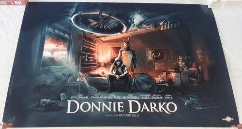 Donnie Darko Rare Original Poster Olivier Cartheret / Carlotta Films GENUINE