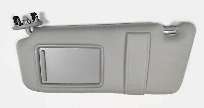 New Left/Driver Side Sun Visor Gray for 2007-2011 Toyota Camry WITHOUT SUNROOF