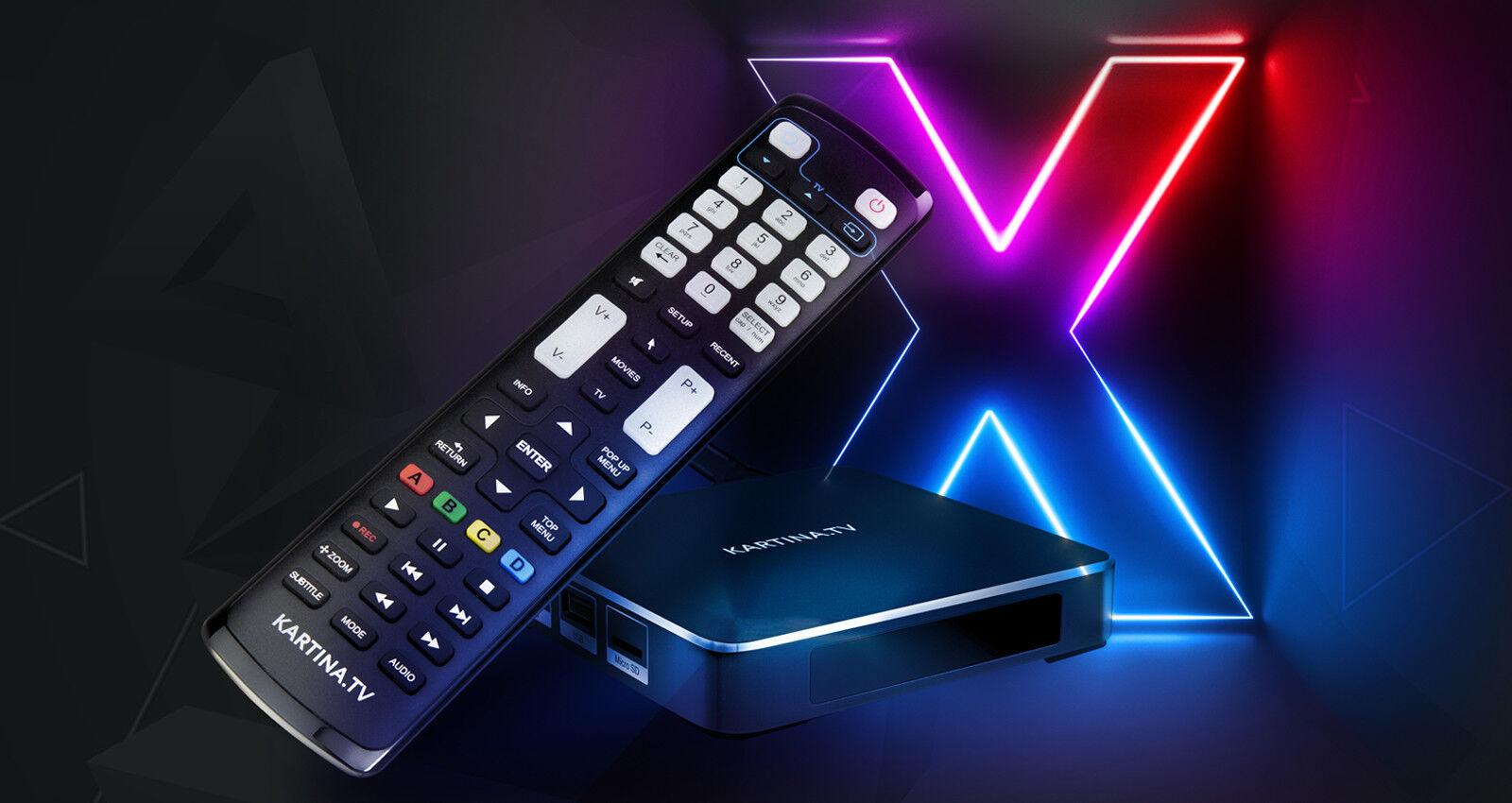 Kartina TV X DUNE IPTV Receiver Neu