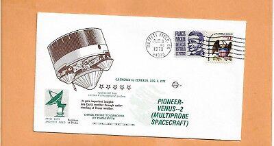 PIONEER VENUS 2 AMES LABS MOFFETT FIEELD CA AUG 8,1978   SPACE VOYAGE COVER
