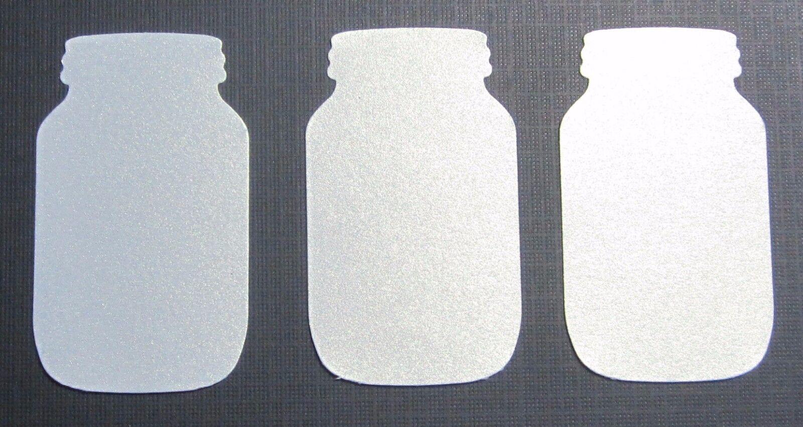 Groß Dose Stanze Ausschnitte Punch-Outs Papier Teile U-Pick Set Menge von 24