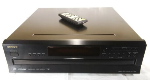 ONKYO DX-C390 6 Disc CD Compact Disc Changer Player w/ Remote Control