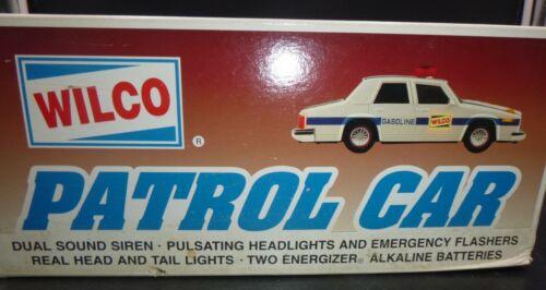 VINTAGE #2 WILCO 1997 PATROL CAR - NIB BATTERY OPERATED