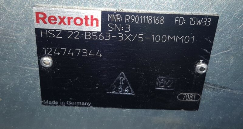 Rexroth DR 20-5-52/100YM Pilot Operated Pressure Reducing Valve R900597283 - New