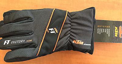 KTM Handschuhe lang Winter schwarz/orange Gr.S Fahrrad MTB NEU