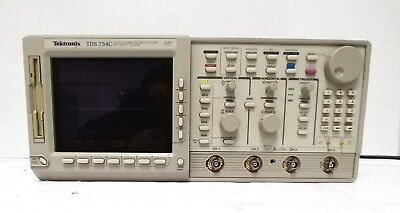Tektronix Tds754c Oscilloscope 4-channel 500 Mhz 2 Gsas