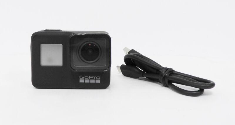 GoPro HERO 7 CHDHX-701 Waterproof Action Camera w/ Touch - Black