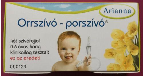ARIANNA Baby Vac Vacuum Nasal Aspirator Nose Cleaner Orrszivo porszivo Orrszívó